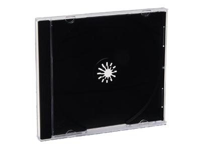 Verbatim Storage Cd Jewel Case - Black - Pack Of 2