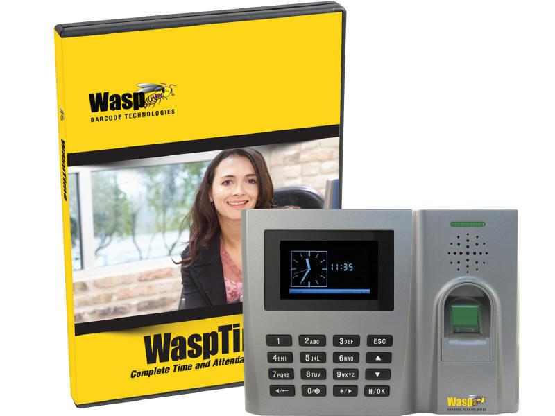 Wasp Wasptime V7 Enterprise Software With  Biometr