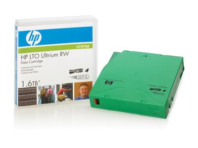 Hewlett Packard - HP Hp Lto4 Ultrium Non Cust Labe