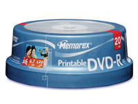 Imation Removable Media - Dvd-R - 4.7 Gb - 120 Min