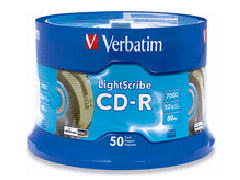 Verbatim 50 X Cd-R - 700 Mb ( 80Min ) 52X - Lights