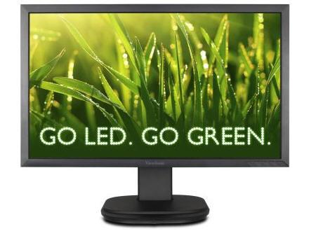 Viewsonic 22In (21.5In Vis) Ergonomic Led Monitor,