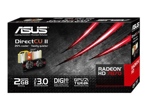 Asus Hd7870-Dc2-2Gd5-V2, Amd Radeon Hd 7870, Pci E