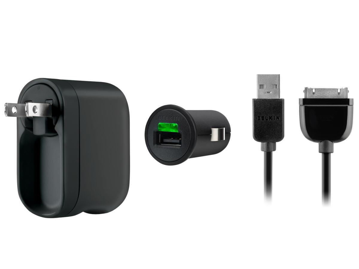 Belkin Traveling 2.1A Charger Kit For Samsung Tabl