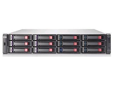 Hewlett Packard - HP P2000 Dual I/O Lff Drive Encl