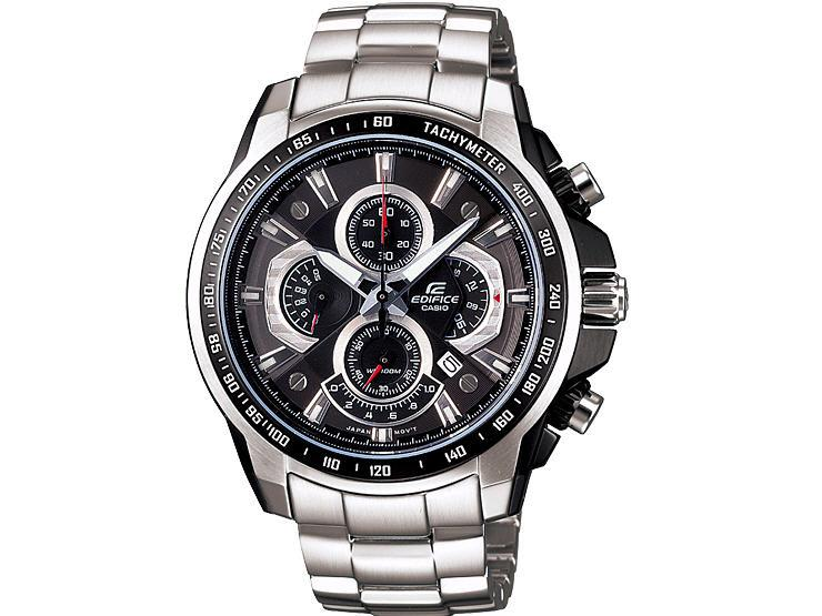 Casio Mens Ediface Chronograph Watch With Carbon F