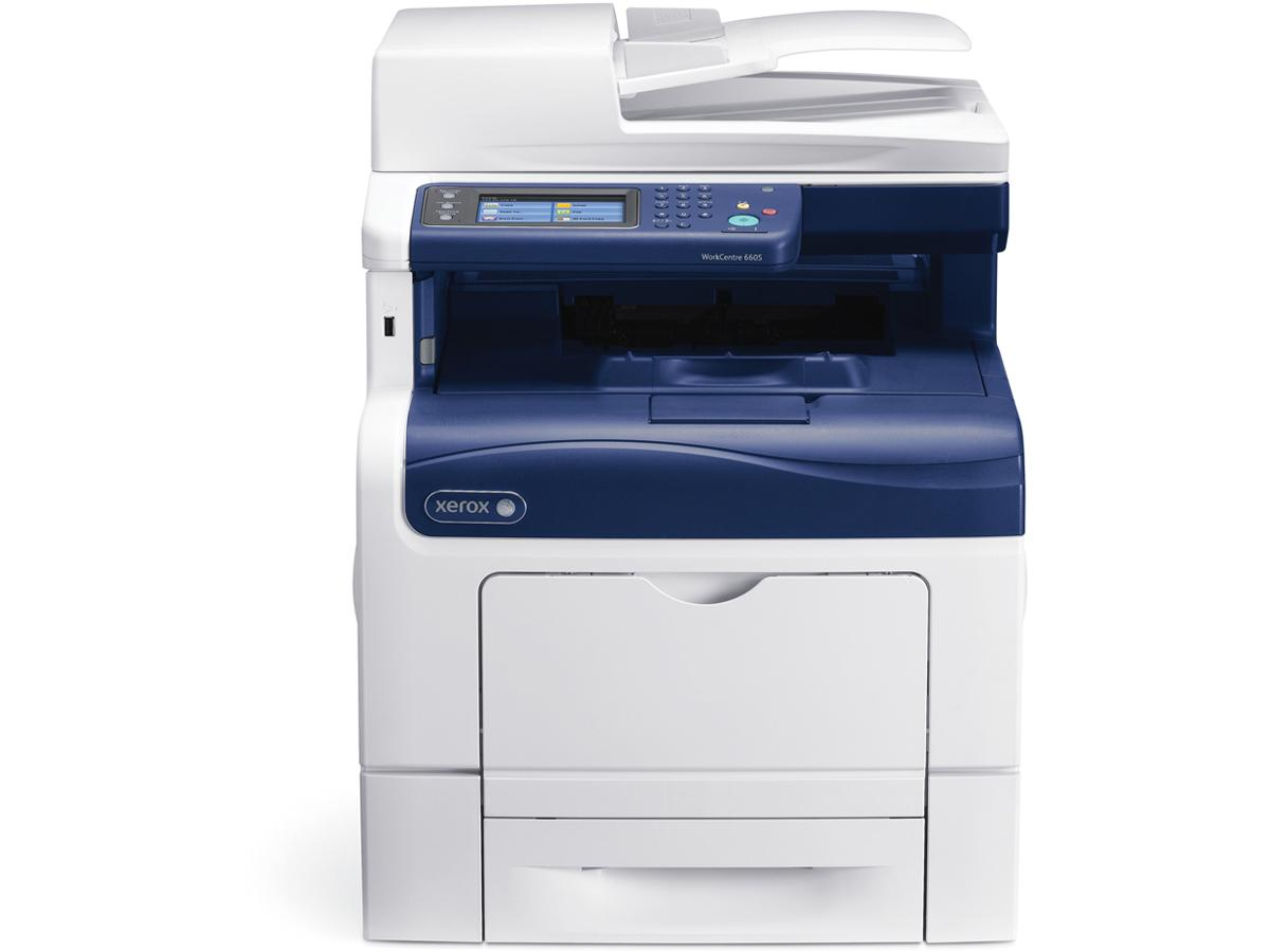 Xerox Workcentre 6605 Color Laser Mfp, Print/Scan/