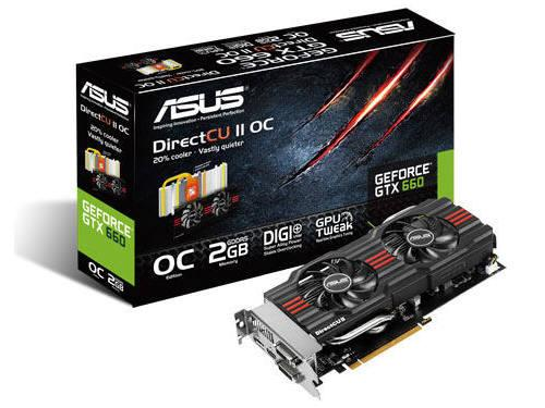 Asus Geforce Gtx 660 1085Mhz 2G 2Dvi/Hdmi/Dp