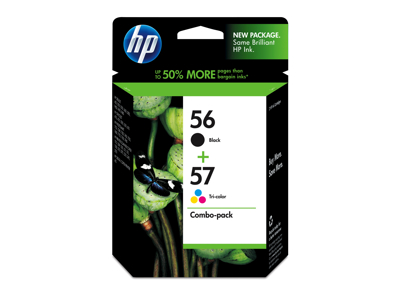 Hp 56A And Hp 57A Retail Combo Pack - C9321Fn#140 at Sears.com