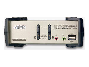 Aten 2-Prt Usb Kvmp Switch With Audio Support