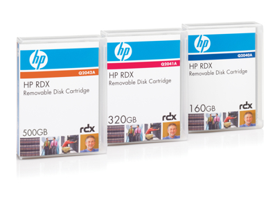 Hewlett Packard - HP Hp Rdx 320Gb Removable Disk C