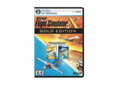 Microsoft Flight Sim X-Gold Win32 English Na Dvd B