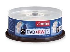 Imation Dvd+Rw 8X 4.7Gb Spindle Imation 25Pk