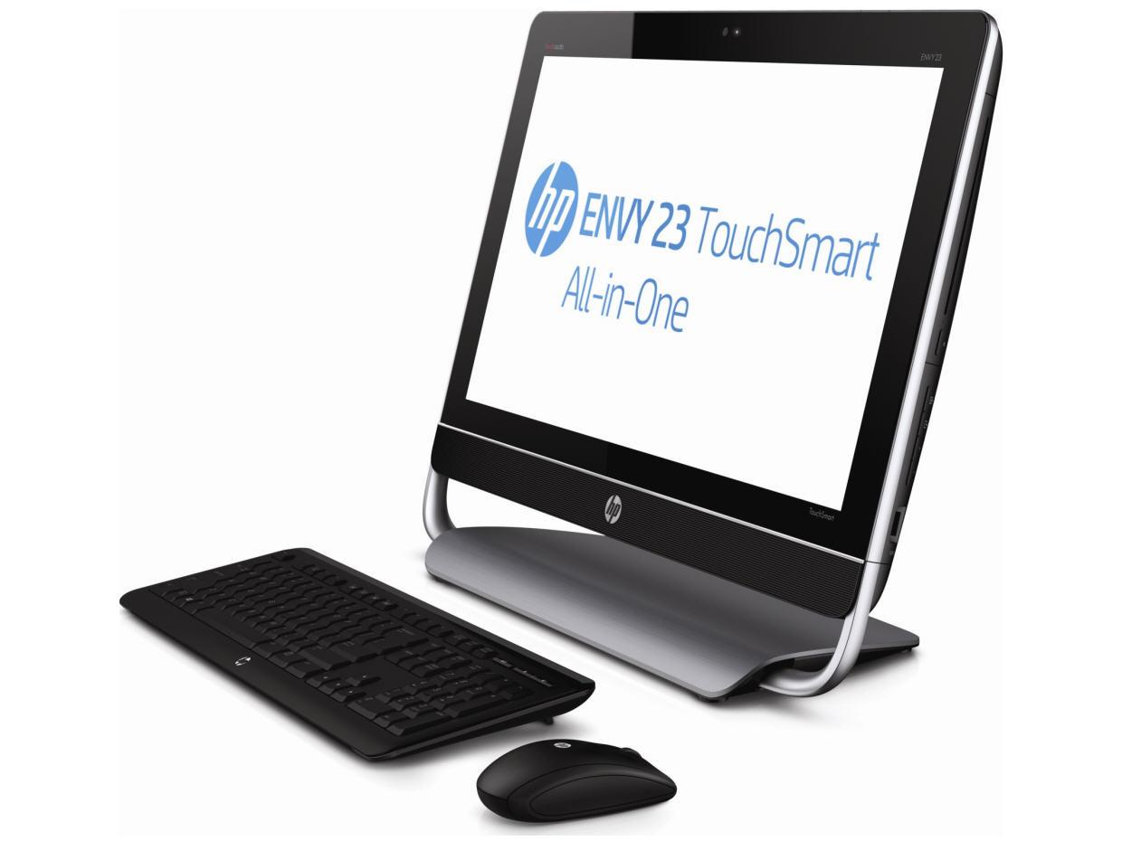Hewlett Packard English Envy 23-D030 Touchsmart -
