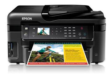 Epson Workforce Wf-3520 All-In -One