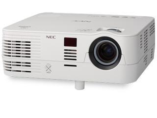 NEC Wxga, Dlp, 2800 Lumen Projector, 3000:1 Contra