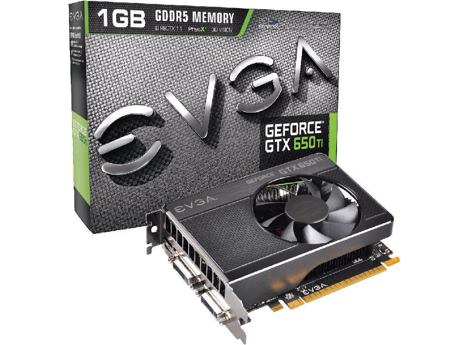Evga Geforce Gtx 650 Ti1024Mbgddr5Pci-E 3.0