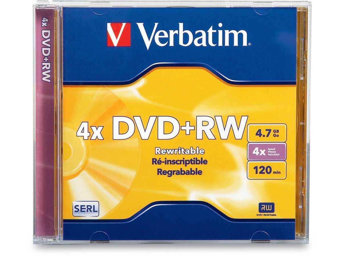 Verbatim Verbatim Datalifeplus 1 X Dvd+Rw 4.7 Gb 4