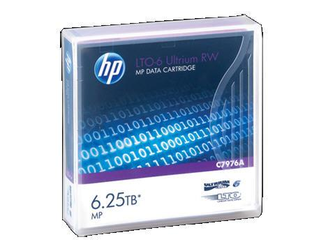 Hewlett Packard - HP Hp Lto-6 Ultrium 6.25Tb Mp Rw