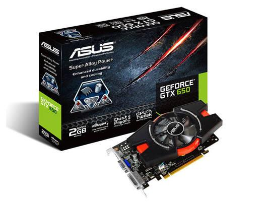 Asus Geforce Gtx650 1071Mhz 2G 2Dvi-D/Hdmi