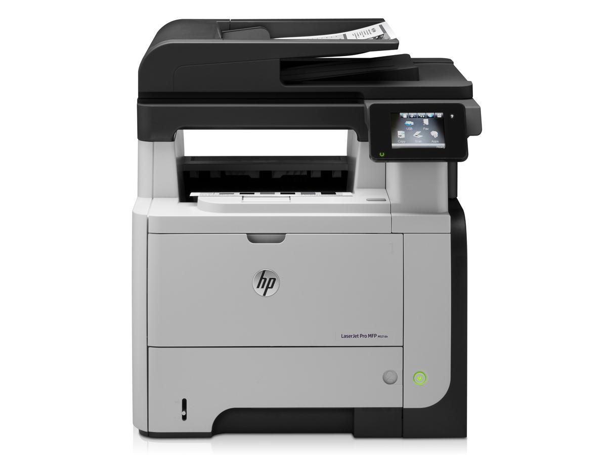 Hewlett Packard - HP Hp Lj Pro Mfp M521Dn Printer