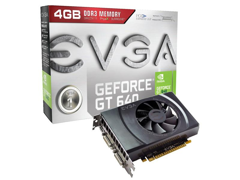 Evga Nvidia Geforce Gt 640, Pci Express 3.0 X16, 9