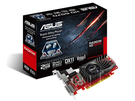 Asus Hd6570-2Gd3-L, Amd Radeon Hd 6570, Pci Expres