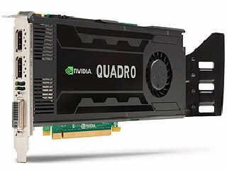 Hewlett Packard - HP Nvidia Quadro K4000 3Gb Dl-Dv