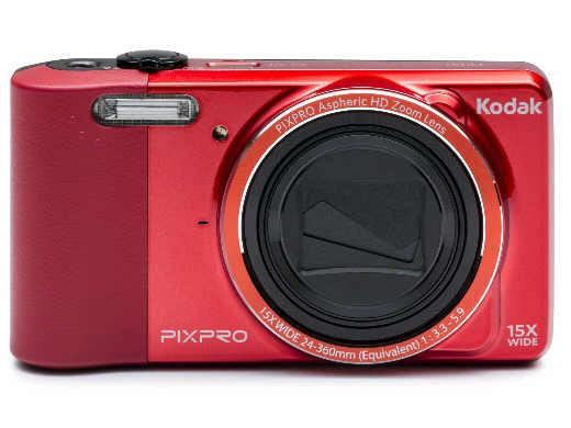 JK Imaging Dig Cam/16Mp/15X/3.0Lcd/Lith/720Hd/Red