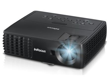 InFocus Portable Wxga Dlp Projector, 2.7 Lbs, 2200