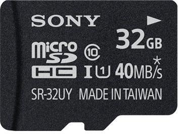 Sony 32Gb Class 10 Micro Sdhc Uhs-1 Memory Ca