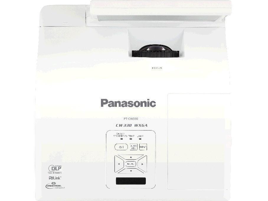 Panasonic Wxga 3100 Lumens Short-Throw Projector