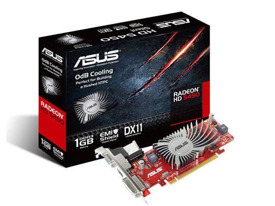 Asus Eah5450 Silent/Di/1Gd3(Lp), Amd Radeon Hd 545