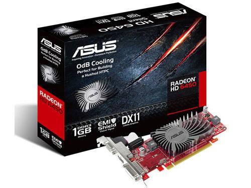 Asus Eah6450 Silent/Di/1Gd3(Lp), Amd Radeon Hd 645