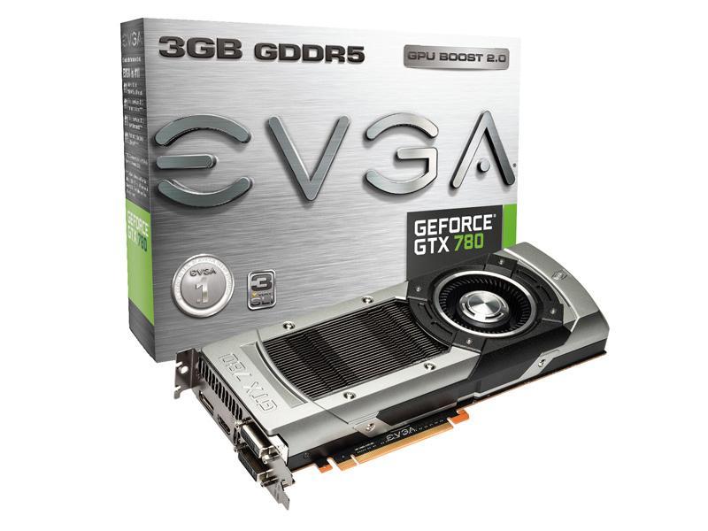 Evga Nvidia Geforce Gtx 780, Pci Express 3.0 X16,