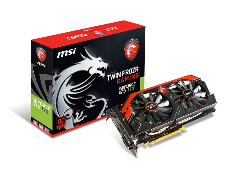 Msi N770 Gaming Geforce Gtx 770 Oc Twin Frozr