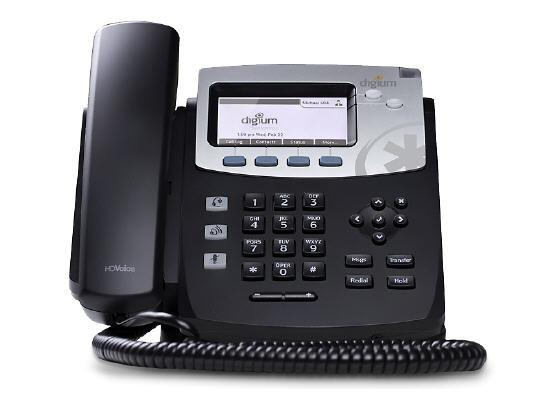 Digium Ip Phone, D41 2-Line Sip, Icon Keys