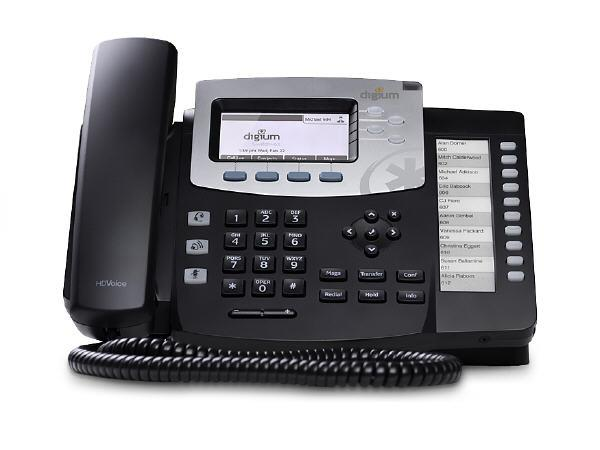 Digium Ip Phone, D51 4-Line Sip, Icon Keys