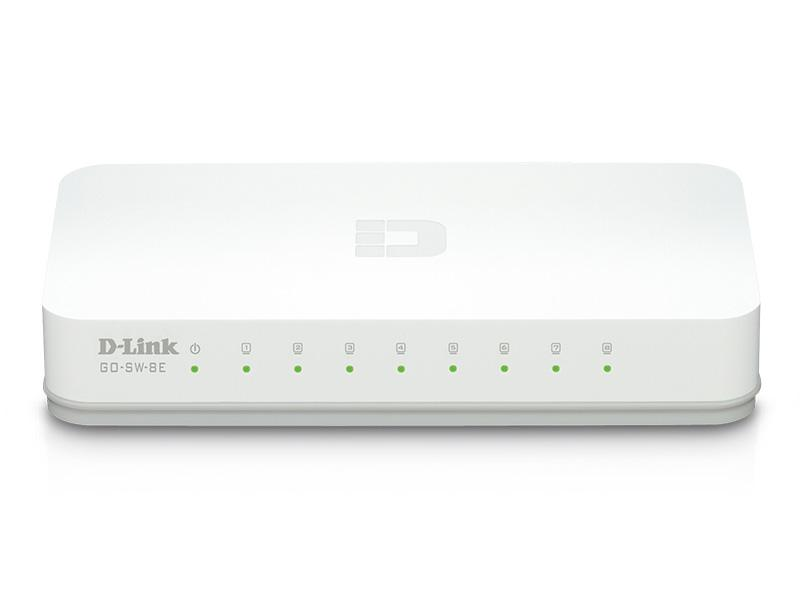 D-Link 8-Port Fast Ethernet Unmanaged Desktop Swit