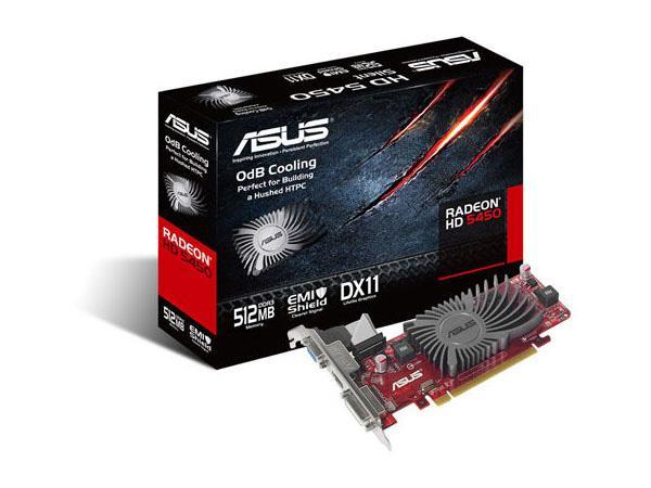 Asus Eah5450 Silent/Di/512Md3/Mg(Lp), Amd Radeon H