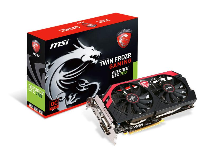 MSI Msi N760 Gaming Geforce Gtx 760 Oc Twin Frozr