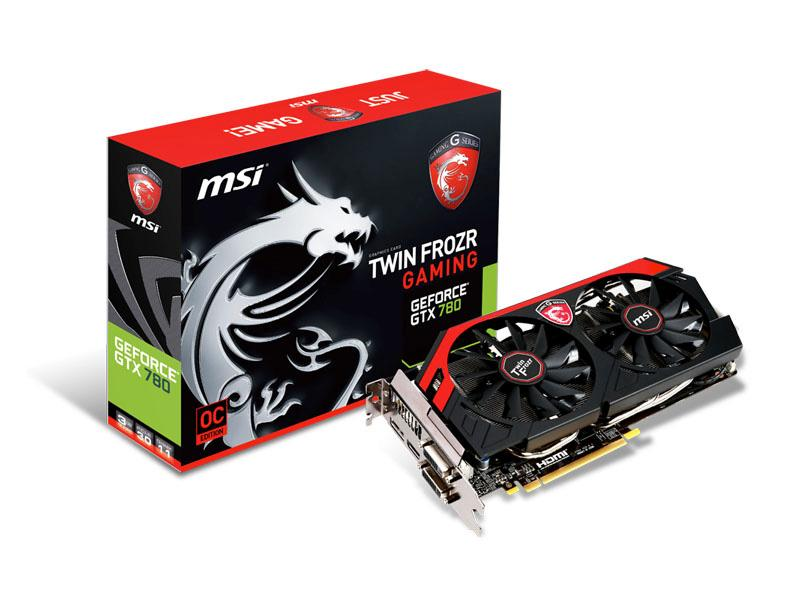 MSI Msi N780 Gaming Geforce Gtx 780 Oc Twin Frozr