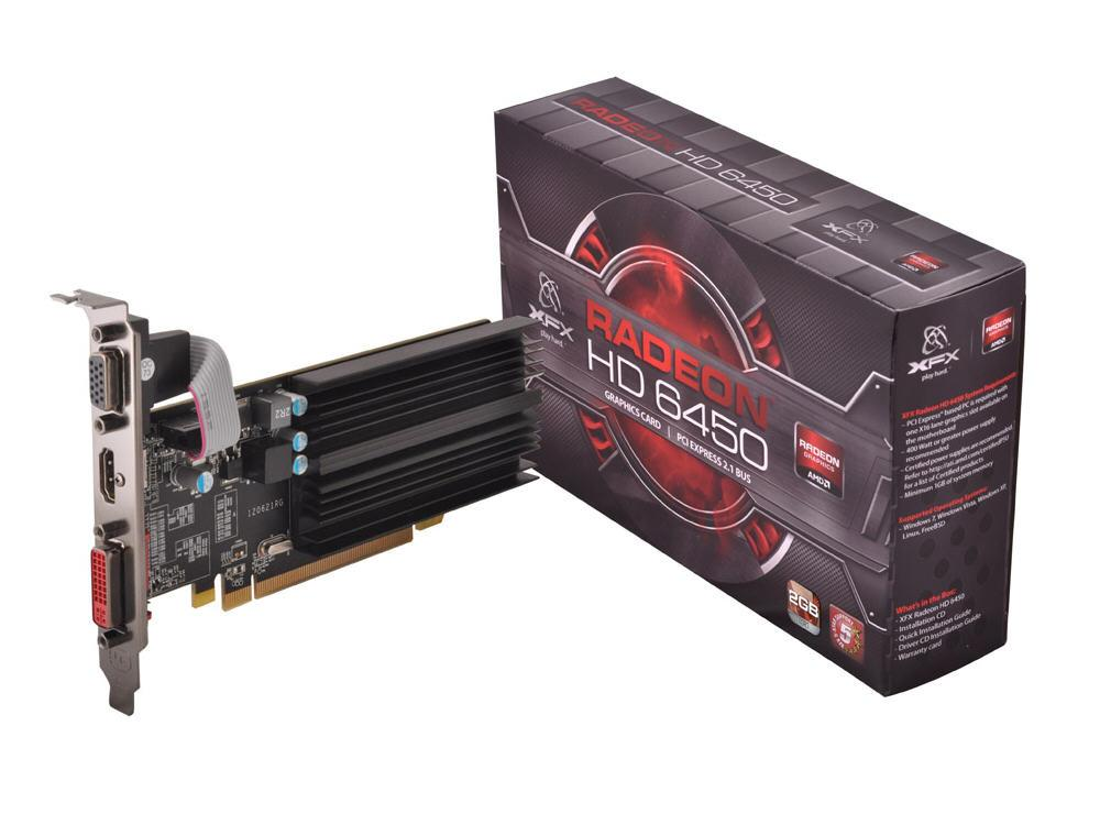XFX Technology Xfx Radeon Hd 6450 2Gb Ddr3,Dvi, Hd