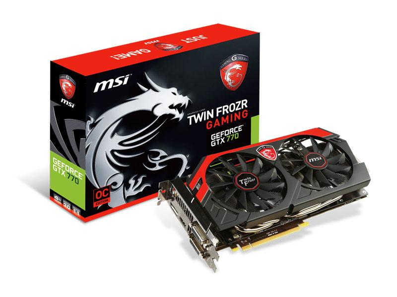 MSI Msi N70 Gaming Geforce Gtx 770 Oc Twin Frozr I