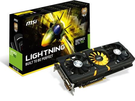 MSI Msi Geforce Gtx 780 Lightning Trifrozr 980/103