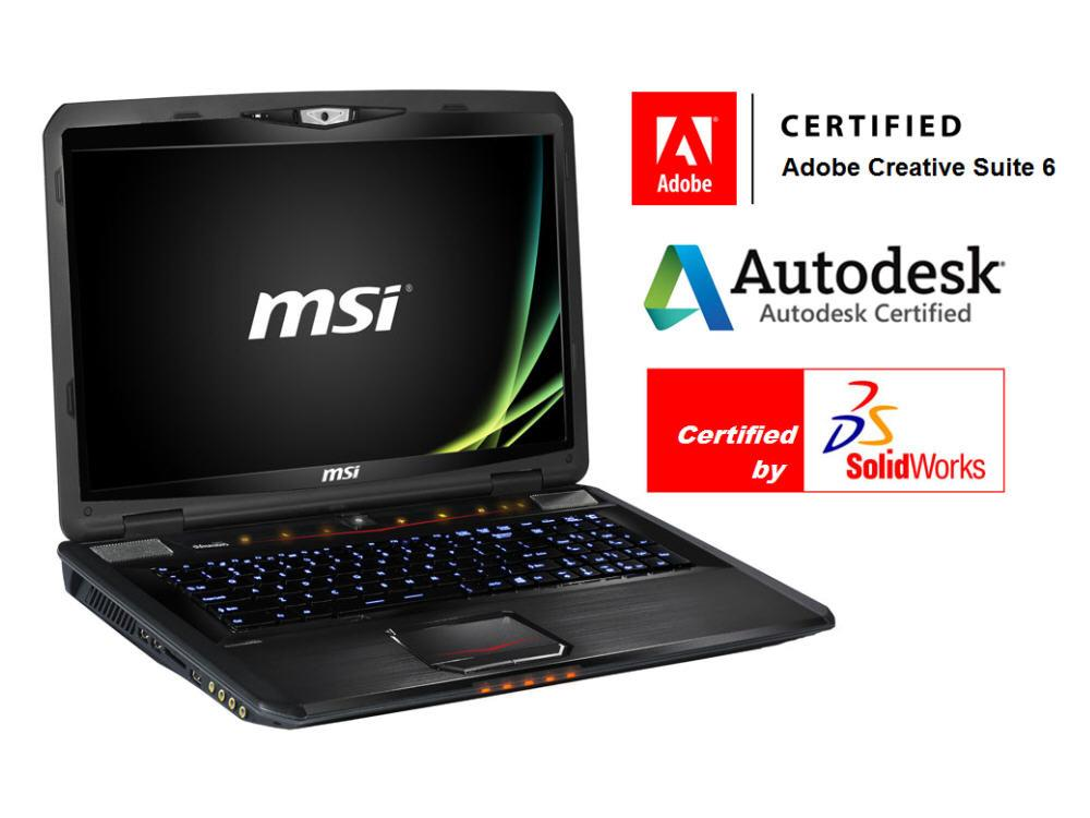 MSI Quadro K3100M 3D/ Ddr5 4Gb,16Gb Ddr3,1Tb (Sata