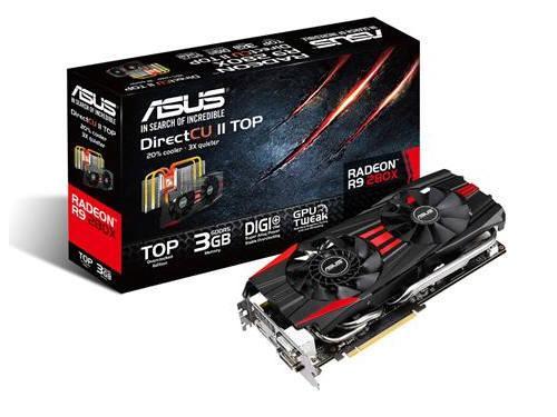 Asus R9280X-Dc2T-3Gd5, Amd Radeon R9 280X, Pci-Exp