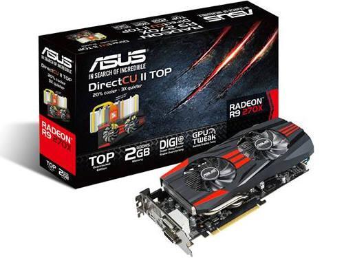 Asus R9270X-Dc2T-2Gd5, Amd Radeon R9 270X, Pci Exp