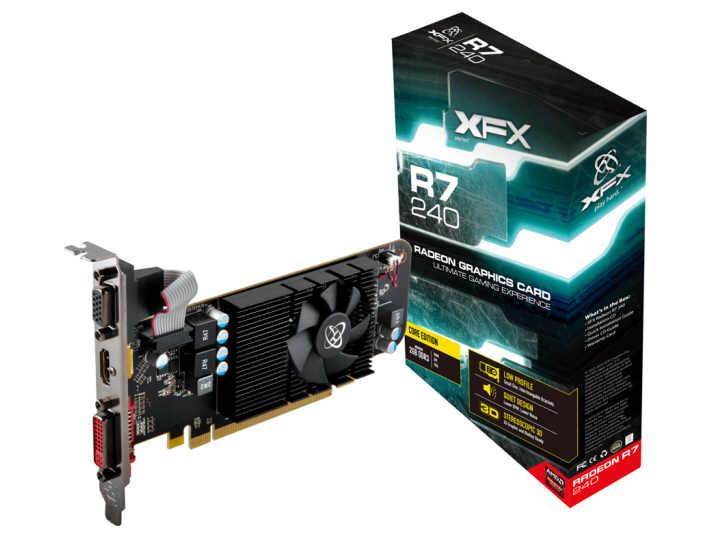 XFX Amd Radeon R7 240 - Core Radeon R7 240 780Mhz