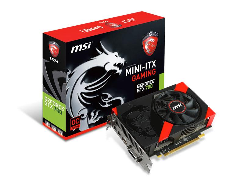 MSI Msi N760 Gaming Geforce Gtx 760 Gaming Itx 103
